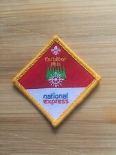 UK Scouting Cub Scout Discontinued Challenge Award (Outdoor Plus) Sponsored