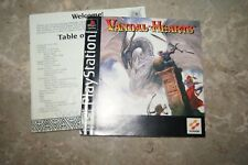 Vandal Hearts Ps1 Manual Only -  NO GAME OR CASE