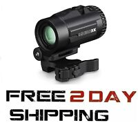Vortex Optics Micro 3X Magnifier with Quick-Release Mount V3XM