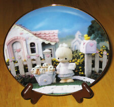 Precious Moments Classics Plate Collection God Loveth A Cheerful Giver Hamilton