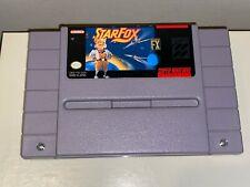 STARFOX SNES Super Nintendo Original Game (1991) Tested & Working!