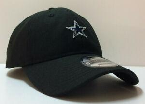 Dallas Cowboys New Era 9TWENTY NFL Adjustable Strapback Hat Dad Cap Black 920