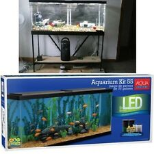 Complete Kit for up to 55 Gallon Aquariums LED Fish Tank Water Bowl Kit Fishes