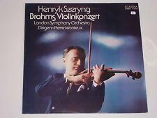 Henryk Szeryng - Brahms Violinkonzert - Pierre Monteux LP Eterna