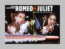 ROMEO AND JULIET CAST X2 PP SIGNED POSTER 12X8 DICAPRIO