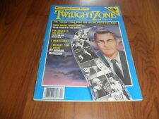 TWILIGHT ZONE MAGAZINE-2nd Anniversary Issue -April 1983