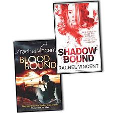 Rachel Vincent Unbound 2 Books Collection Pack Set Shadow Bound Blood Bound New