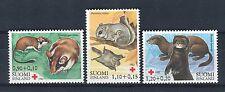 Finlandia/Finland 1982 serie Pro Croce Rossa animali in via d'estinzione MNH