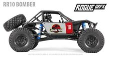 Axial RR10 Bomber Body Graphic Wrap Skin- Jurassic