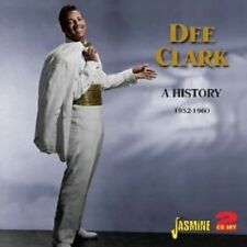 DEE CLARK - A HISTORY-1952-1960 2 CD NEW+