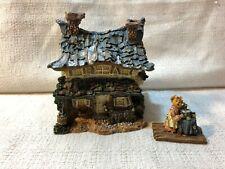 Boyds Bear Bearly Built Villages Ol Macdonalds Farm House Village Figurine 19046