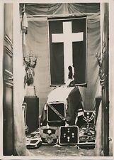 PARIS c. 1930 -Obsèques Cercueil Maréchal Joffre Chapelle des Invalides- PRM 606
