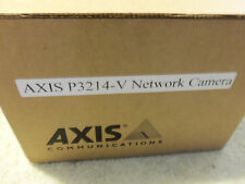 AXIS P3214-V Network Camera IP Network POE Surveillance Security Camera Cam