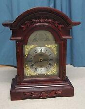 Elegant Westminster Chime Quartz Mantel Clock Tempus Fugit