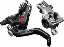 Magura MT8 Pro Disc Brake Lever - Front Rear Hydraulic Post Mount BLK/Chrome