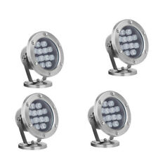 Color Change RGB LED Swimming Pool Light Underwater Wall Lamp 12W AC12V