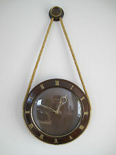 VINTAGE FRIEDRICH MAUTHE NAUTICAL THEME WALL CLOCK GERMANY