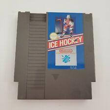 Ice Hockey Nintendo Nes Original Authentic Tested