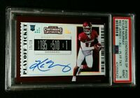 PSA 9 1/1 KYLER MURRAY RC AUTO #'D /18 SSP ROOKIE PLAYOFF TICKET 2019 Contenders