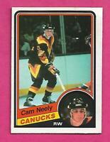 1984-85 OPC # 327 CANUCKS CAM NEELY ROOKIE EX-MT CARD (INV# D1472)