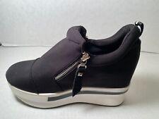 Women's Platform Hidden Wedge Heel Sneakers Shoe Size 6