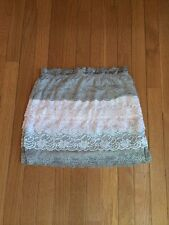 Silence + Noise (Urban Outfitters) Tiered Lined Skirt