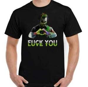 THE JOKER T-SHIRT, Batman, Heath Ledger, Joaquin Phoenix, Suicide Squad Love You