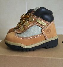 TIMBERLAND FIELD BOOT TODDLER 15845 Wheat Waterproof Td Boots Shoes Baby Size 4.