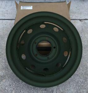M416 M416A1 M416B1 1/4 TON TRAILER Rim Wheel Tire Jeep MUTT NOS 2530-00-150-7832