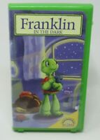 FRANKLIN IN THE DARK ANIMATED VHS VIDEO, 2 GREAT EPISODES, EVERYDAY DILEMMAS