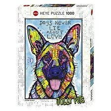 Heye Puzzles - 1000pc - Dogsnever Lie - Dogs Never 1000piece Multicolour