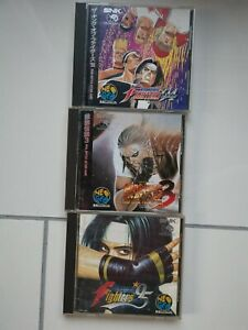 3x Neo Geo CD Games(NG) Jap Jp - King of Fighters 94 95, Fatal Fury 3