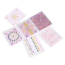 30 Sheet Nail Art Wraps Self-Adhesive Stickers Floral Flowers Decals Manicure