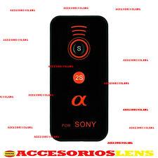 FERNBEDIENUNG DRAHTLOSE FÜR Sony ALPHA a900 a700 a550 a6000 NEX5 NEX6 NEX7