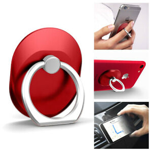 Universal 360° Rotating Finger Ring Stand Holder For iPhone Samsung LG Android