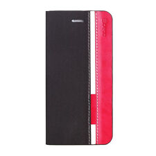 Poetic FlipBook Wallet Flip PU Leather Case for Motorola Moto G 2nd Gen BLK/MAG