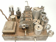 vintage * HALSON 6 tube CATHEDRAL RADIO part:  Non-Working Chassis w/ 6 TUBES