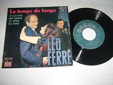 LEO FERRE EP FRANCE LE JAZZ BAND