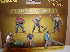 Bachmann Scene Scapes 33155 Construction Workers Figure Pack MIB O-27 6 figures