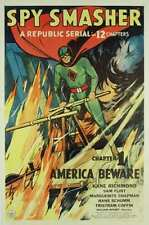 Spy Smasher - Classic Cliffhanger Serial Movie DVD  Kane Richmond