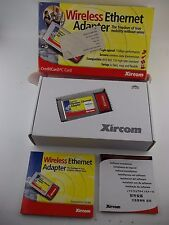 XIRCOM CreditCard Wireless Ethernet Adapter Card CWE1130, IEEE 802.11b, PCMCIA