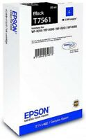 Epson T7561 (Yield 2500 Pages) L Black Ink Cartridge (50ml) for WorkForce
