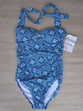 Spanx LOVE YOUR ASSETS by Sara Blakely Fiesta Tile One Piece Swimsuit, Size M