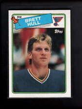 1988-89 TOPPS #66 BRETT HULL ROOKIE RC NM D7161