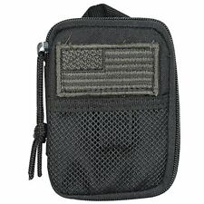 "Voodoo Tactical Molle Compact BDU Wallet with Clip and lanyard Strap - 5.5""x4.5"""