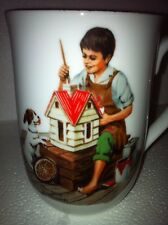 Norman Rockwell Mug/Cup- A Doll House For Sis. Siblings, Toys & Free Cd