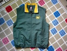 REEBOK EDMONTON ESKIMOS CFL FOOTBALL TEAM VEST SHORT-SLEEVED JACKET NICE!!