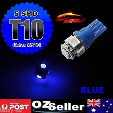 4x Blue T10 LED Parker Parking Lights Globes For Ford Falcon AU BA BF XT XR6 XR8
