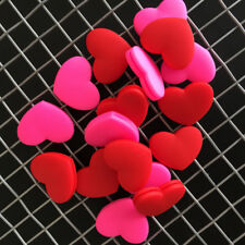 2pcs Tennis Racket Absorber Reduce Tenis Racquet Vibration Dampeners heart Jb