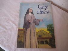 Livre bande dessinée CLAIRE D'ASSISE